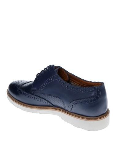 Cotton Bar Oxford Ayakkabı Lacivert